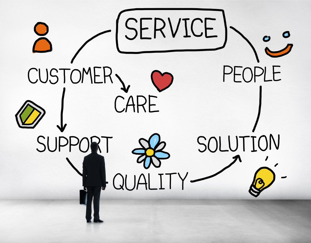 the role of the customer service assistant in companies