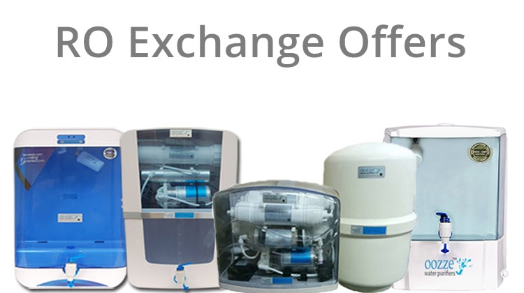 Exchange your Old Water Purifier for New Oozze Alkaline Water Purifiers