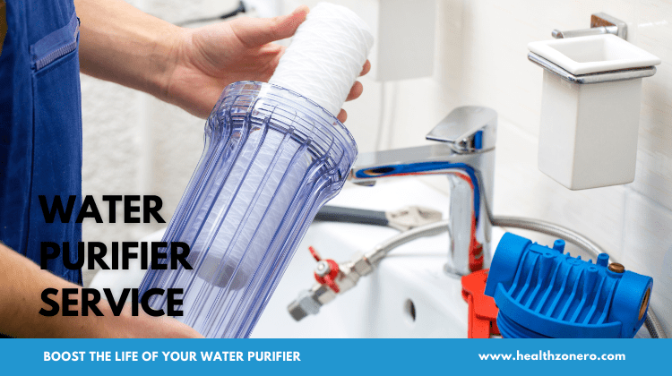 a water purifier is also a machine and needs proper care and service.